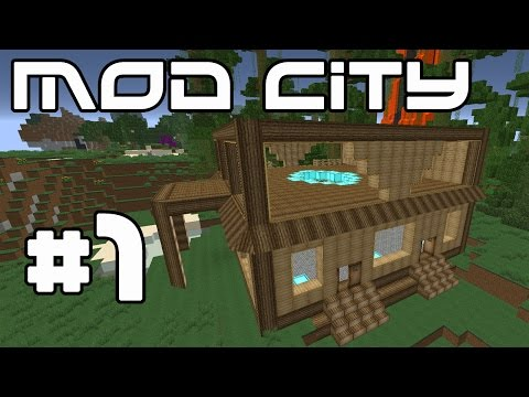 Minecraft Mod City - The Penthouse! #1