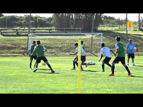 La selección sub-15 entrena para el sudamericano de Colombia
