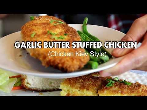 Garlic Butter Stuffed Chicken ( Kiev Style)