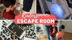 ESCAPE ROOM für Kinder - ANLEITUNG  (Spiel Partyspiel DIY, inkl. Download)