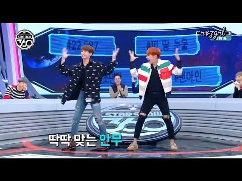 161107 Star Show 360 - BANGTAN JHope & Jungkook Girl Group Dance Red Velvet & IOI