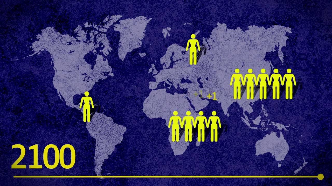 Så många fler blir vi på jorden