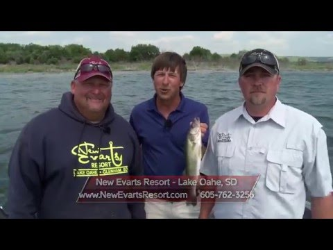 MidWest Outdoors TV Show #1565 - Lake Oahe Walleye in South Dakota at New Evarts Resort