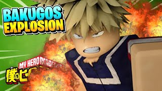 BOKU NO ROBLOX REMASTERED LEGENDARY QUIRKS REVIEW: Bakugos Explosion!!