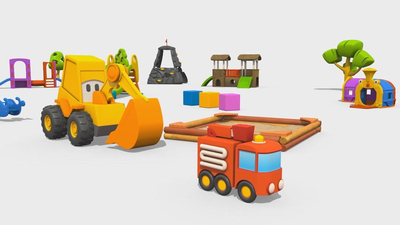 Cartoni animati per bambini max l escavatore come fare