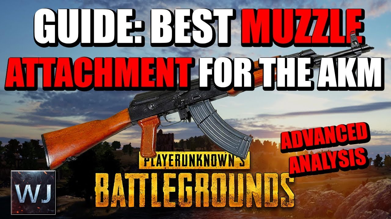 Download [OUTDATED] GUIDE: The BEST attachment for the AKM, Recoil Analysis - (PUBG)