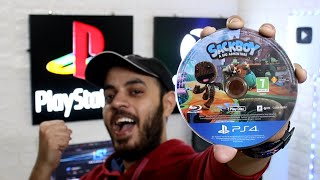 SACKBOY A BIG ADVENTURE UNBOXING + GAMEPLAY PS5 & PS4