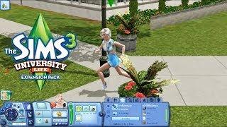 The Sims 3 University Life#1 เข้าสู่ชีวิตมหาลัยวัยฝัน