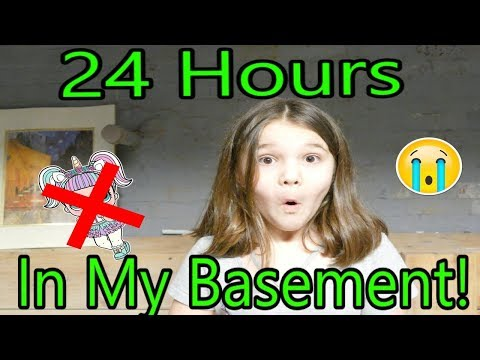 24 Hours in My Basement with No Lol Dolls! 24 Hour Creepy Basement Challenge!