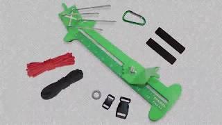 Pskook Monkey Fist Gabarit et Paracord Jig Bracelet Maker Paracord Tool Kit