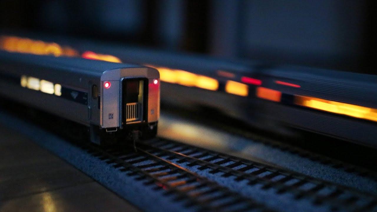 Amtrak HO Scale Bachmann Rapido Train Unboxing