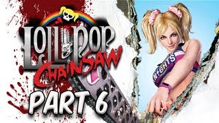 Lollipop Chainsaw Walkthrough - Part 6 [Stage 1] Boss Battle Zed Let's Play XBOX PS3