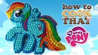 MY LITTLE PONY M&M CAKE (MLP series 5 party) How To Cook That Ann Reardon