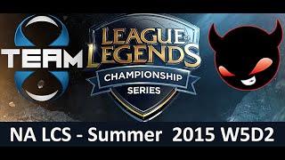 T8 vs NME NA LCS Championship series Summer Split 2015 W5D2 Team 8 vs Enemy Esports Game Highlights