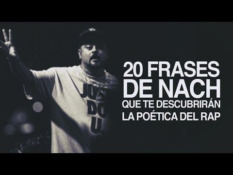 20 Frases de Nach que te descubrirán la poética del rap