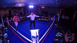 Ultra White Collar Boxing | Northampton | Alex Davies VS Allan Dennis