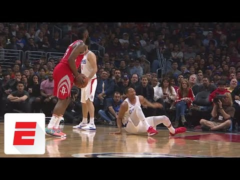 All the best reactions to James Harden's nasty cross of Wesley Johnson | SportsCenter | ESPN