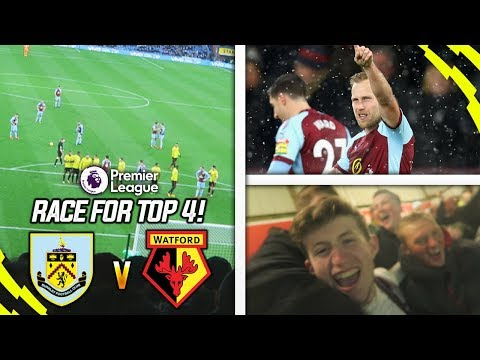 I AM DREAMING RIGHT NOW!! - BURNLEY 1-0 WATFORD BURNLEY VLOG!
