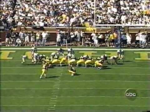 1999: Michigan 26 Notre Dame 22