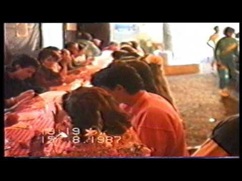 campeggio Sappada agosto 1987