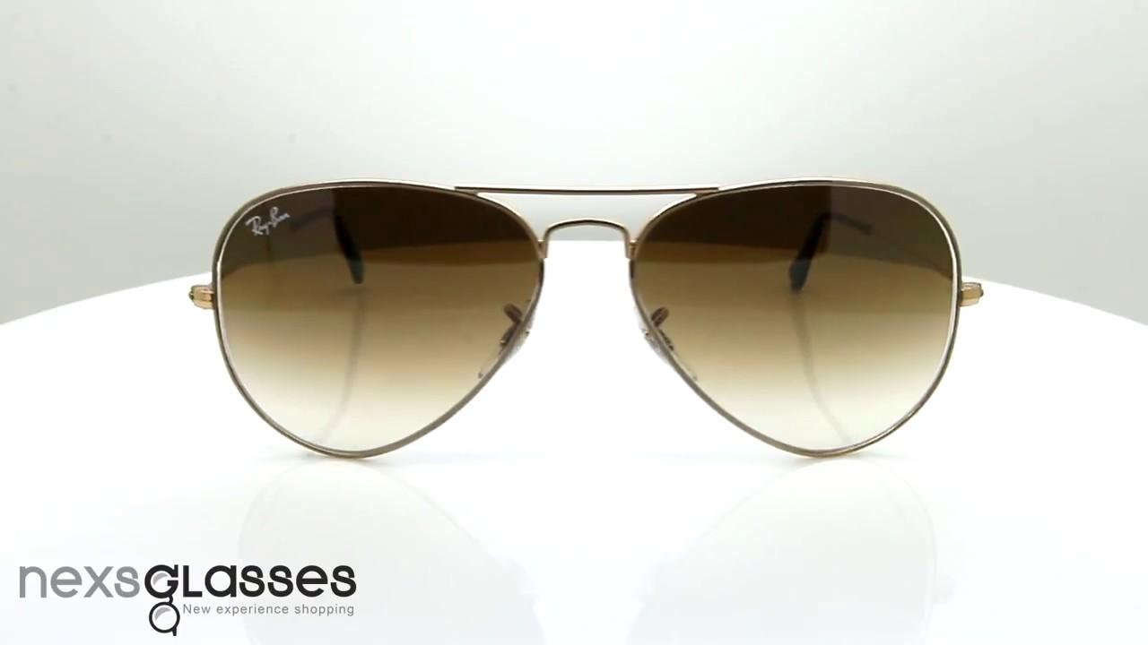 b437dae397a แว่นกันแดด RAY-BAN AVIATOR RB3025 001 51 58. Nexs Glasses