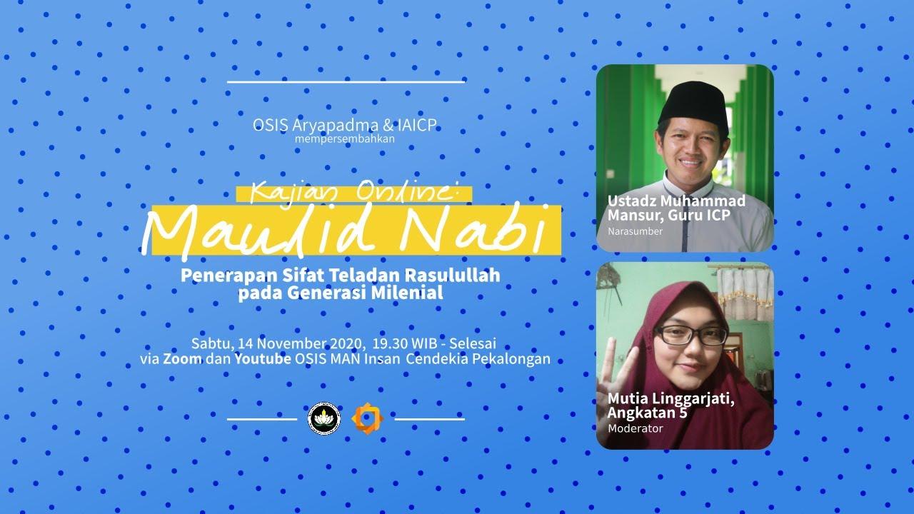 Kajian Online | Maulid Nabi bersama Ustadz Muhammad Mansur Nasri