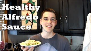 How to Make Healthy Alfredo Sauce • Joe's Light BItes