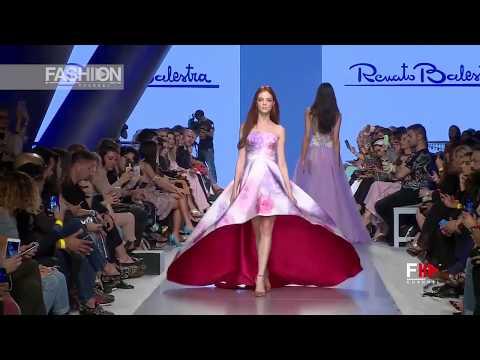 RENATO BALESTRA 4th Arab Fashion Week Ready Couture & Resort 2018 - Fashion Channel