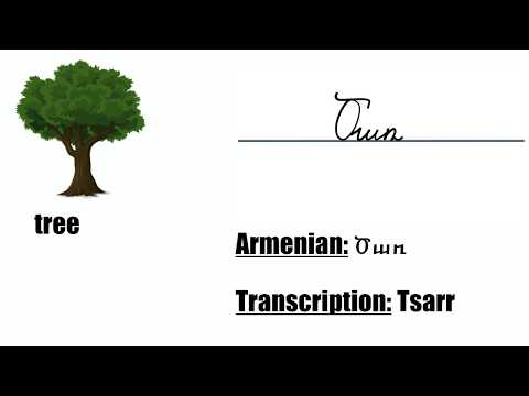 Learning Armenian: How To Write Cursive In Armenian
