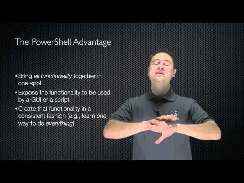 Windows PowerShell Fundamentals Chapter 01 - Architecture and Overview