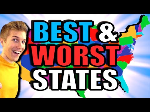 Best & Worst Things About All 50 States