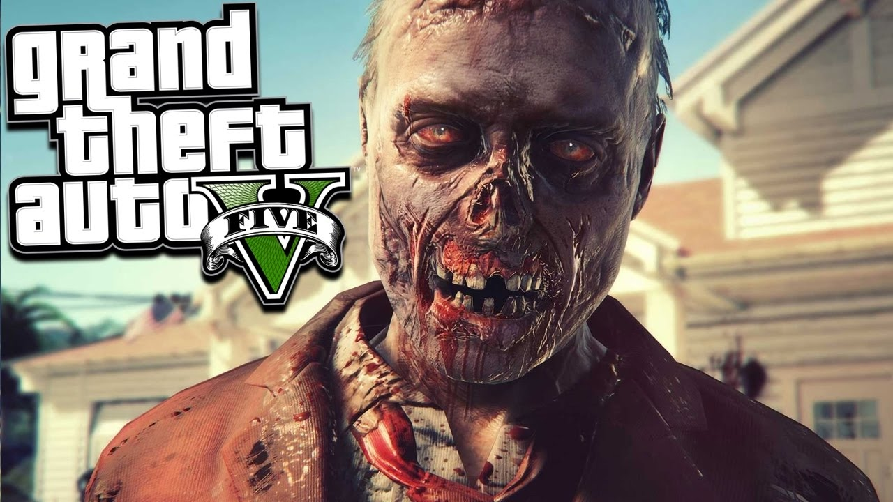 Me Vs  Zombies Gta  Zombies Survival Gameplay Gta  Mods