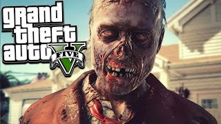 SCARIEST ZOMBIES EVER!!! GTA 5 Zombies Survival Gameplay (GTA 5 Mods)