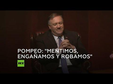 RT en Español: Mike Pompeo evoca su tiempo como director de la CIA