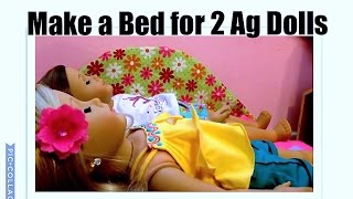 How To Make A Trundle Bed For Ag Dolls