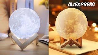 ✔ СВЕТИЛЬНИК ЛУНА 3D печать AliExpress /3D Print Moon Lamp