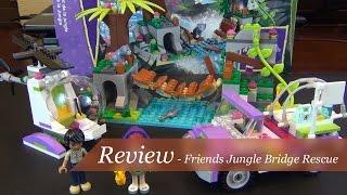 Review - Lego Friends Jungle Bridge Rescue Set #41036