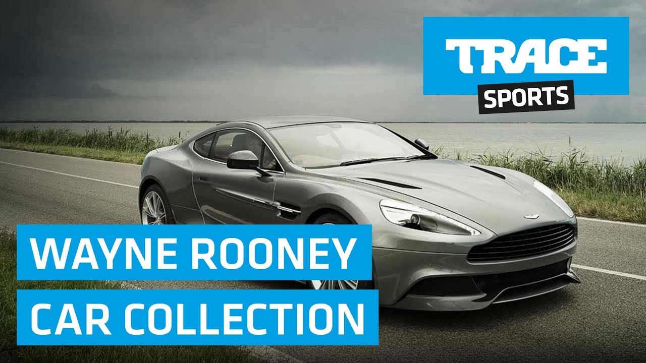 Wayne Rooney Car Collection Youtube