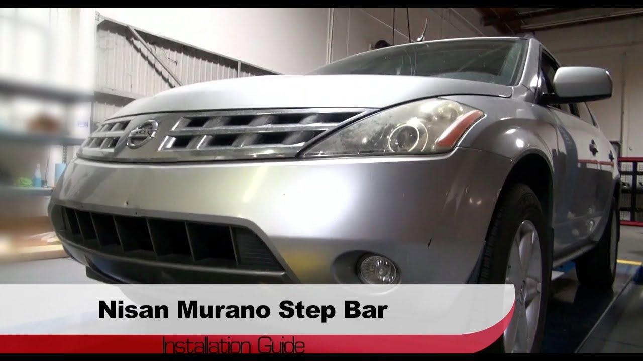 spyder auto installation 2003 08 nissan murano side step bars youtube rh youtube com 2014 Murano 2009 Murano