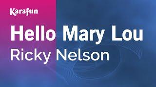 Karaoke Hello Mary Lou - Ricky Nelson *