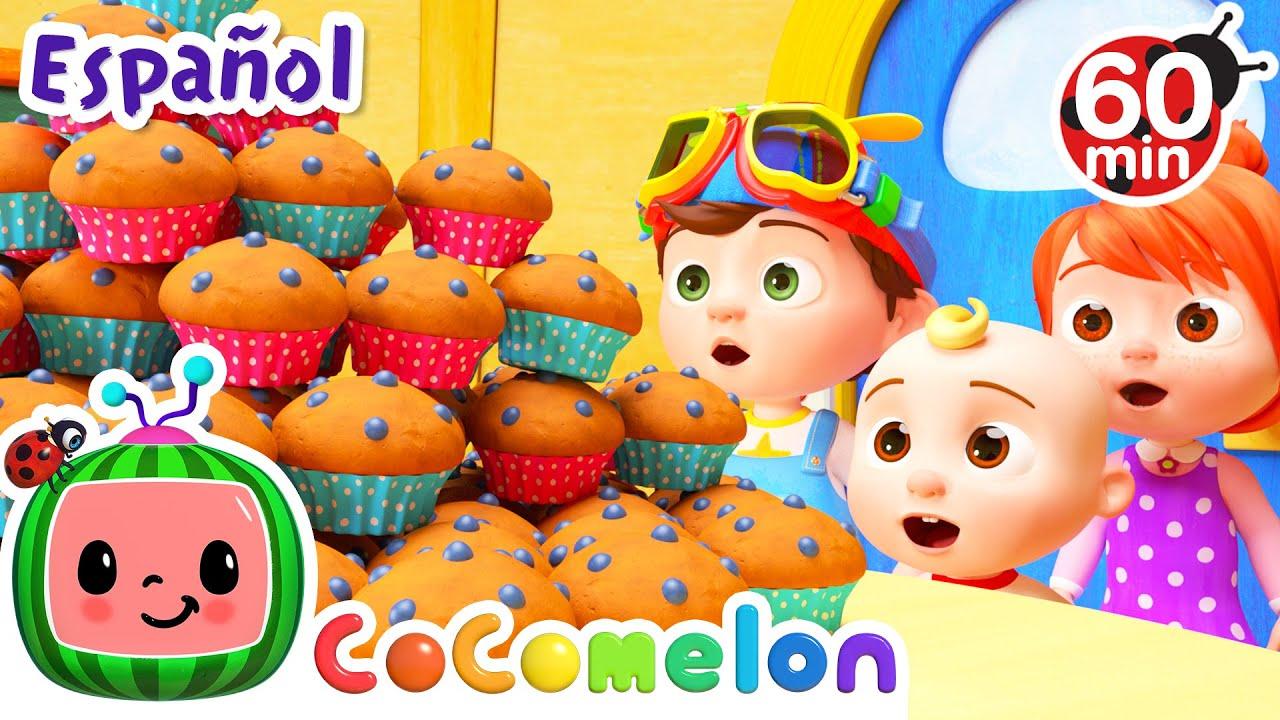 CoComelon en Español | El pastelero | Compilación de Canciones Infantiles y de Cuna