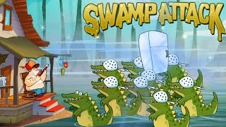 Swamp Attack - Outfit7 Limited EPISODE 2 Level 6 Walkthrough