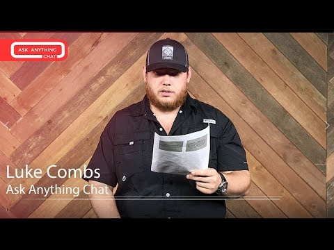 Luke Combs Talks About Mark Walhberg, Eric Church & Baseball Caps.  Part 1
