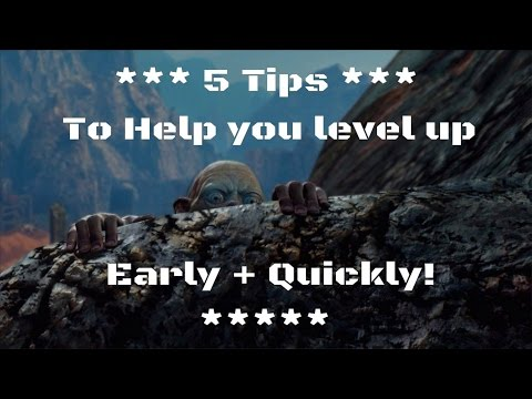 Shadow of Mordor - 5 Helpful Tips to help you grow and level up