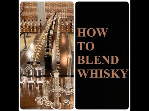 How To Blend Whisky With Master Blender Dr Don Livermore