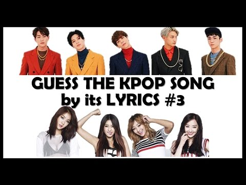 Guess the Kpop Song by its Lyrics #3