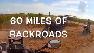 Dual Sport Motorcycle Ride Back Roads Adventure Fort Lauderdale To Clewiston Florida