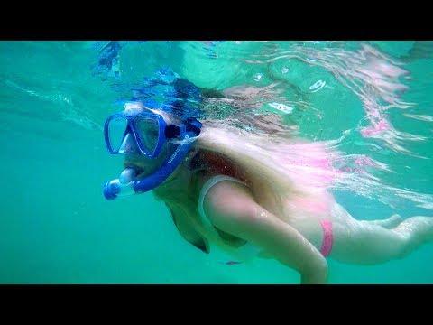 SNORKELING IN THE BAHAMAS! (Epic Underwater GoPro Footage)