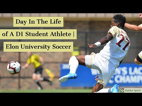 Day In The Life Of A D1 Student Athlete | Elon University
