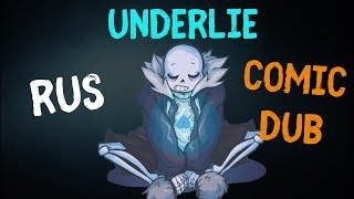 Undertale - Underlie Movie Rus (Undertale Comic Dub)
